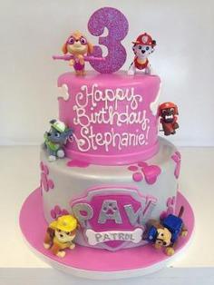 Paw petrol birthday cake