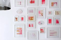Graphic ExchanGE a selection of graphic projects #color #salon