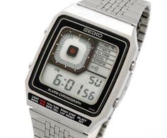 Seiko Digiborg Watch #seiko #watch #timepiece #vintage