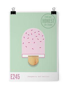 Honest Ice Cream Faust #illustration