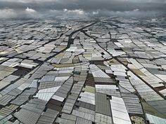 Edward Burtynsky #inspiration #photography #aerial
