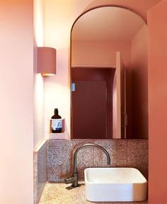Encaustic Tiles, Terrazzo and Warm Timbers at Fonda Restaurant - InteriorZine