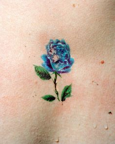 Bridget Collins #flora #rose #color #tattoo #collins #bridget