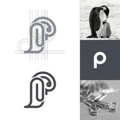 Penguin + Paperclips + P letter by Arif Firmansah