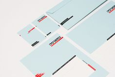 Typography Stationery by Moshik Nadav on Behance #hebrew #stationery #typography
