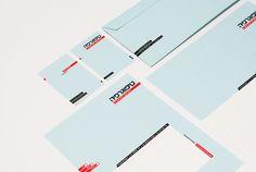 Typography Stationery by Moshik Nadav on Behance