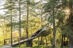 Portuguese Tree Snake House – Fubiz™ #architecture #house #tree
