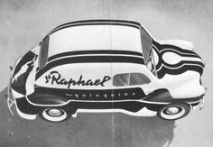 Atelier Loupot — St Raphael #classic #retro #environmental #identity #car