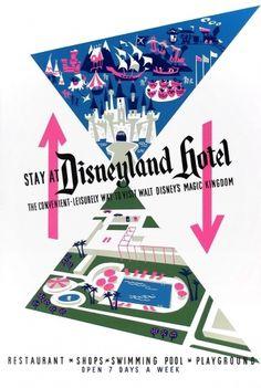 GORILLAS DON'T BLOG: POSTERAMA 20 #poster #hotel #disney #disneyland