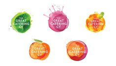 The Great Catering Company gcc 04 #logo #brand #identity #branding
