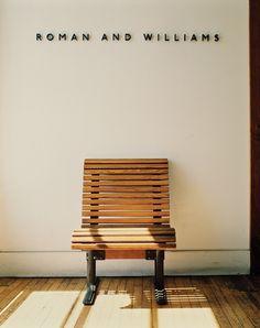 Roman and Williams | Defgrip #bench #clean