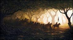 Outstanding Scenery Illustrations Andreas Rocha