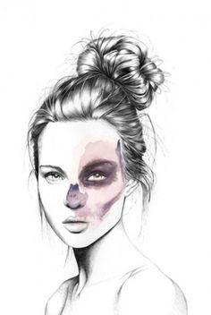 (1) Tumblr #women #ilustration