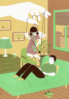 Therapist - BOYOUN KIM #illustration
