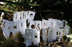 Liz Morrison - Philadelphia, Pennsylvania - The Gardening Nation #design #handmade #typography