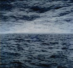 gerhard richter #gerhard richter #painting #see #sea