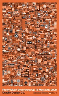 Draplin Design Co Poster by Aaron Draplin #poster