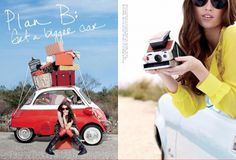 Is it too soon for a Road Trip?? | Mari Hidalgo #red #camera #photography #fashion #car