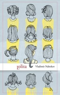 Lolita #yellow #book #girls #covers #lolita #illustration