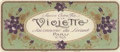 coqueterías #vintage #label #beauty