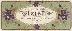coqueterías #vintage #label #beauty