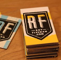Your business card is crap! | royfleeman.com #card #business