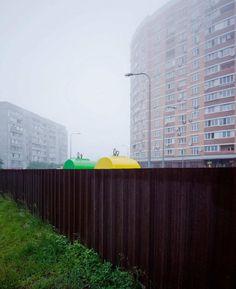 City 21: Conceptual Urban Landscapes by Dimitri Bogachuk
