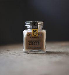 """Coconut sugar"" by Old Salt Merchants #packaging"