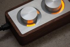 ISO50 Blog – The Blog of Scott Hansen (Tycho / ISO50) » The blog of Scott Hansen (aka ISO50 / Tycho) #controller #arc #design #wood #machined #metal #led #electronic