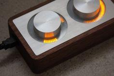 ISO50 Blog – The Blog of Scott Hansen (Tycho / ISO50) » The blog of Scott Hansen (aka ISO50 / Tycho) #controller #arc #design #wood #machined #metal #led #electronic