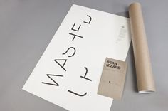 Typographie Washed Up is a personal project by photographer... #type