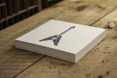 Guitars pt.1 / Letterpress prints on Behance