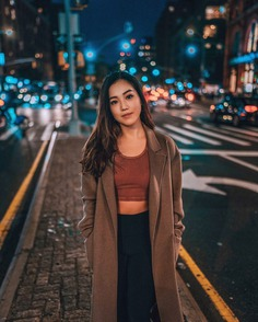 Moody Street Style Female Photography by Tyler Zhang