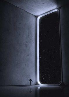 Atmosphere Digital Drawings by Nick Stath