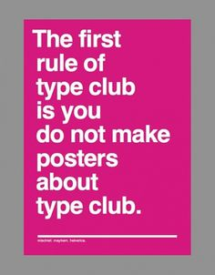 Typographie - aviationstation: this made me laugh =) Click... #type #club
