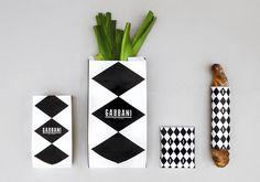 Sara Strand › Gabbani #pattern #identity #branding
