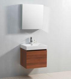 small floating vanity