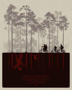 Stranger Things by Matt Ferguson #poster #artwork