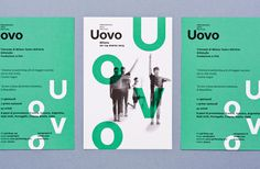 "Atto  |  http://atto.si""Redesign of visual identity for Uovo Performing Arts Festival. Designed at Zetalab. Year: 2013.""Atto is a desi #branding #typography"