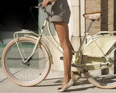 Cure.osity #legs #woman #bicycle
