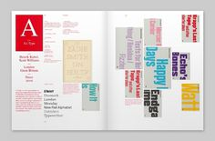 Type Navigator on the Behance Network #design #editorial #typography