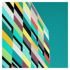 Reflexiones on Behance #geometry #building #color