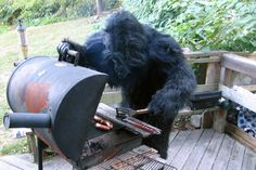 BIGFOOT wwweeessstttyyy #foot #photo #big #grill #meat
