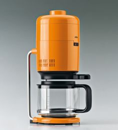 kitzekatze #maker #design #orange #braun #industrial #coffee