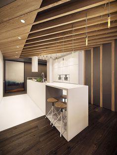 Modern Kitchen °2 - Apartment °1 #modern #kitchen #cucina #moderna #appartamento #moderno
