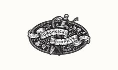 Dropkick Murphys #inspiration #design #graphic #professional #quality