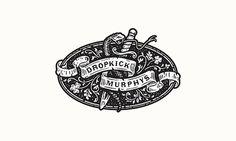 Dropkick Murphys #graphic design #design #inspiration #quality #professional