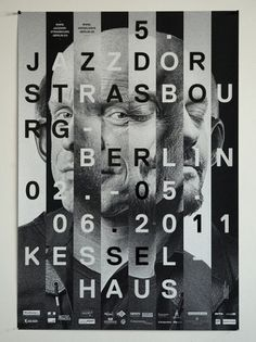Baubauhaus. #typography #poster #black and white