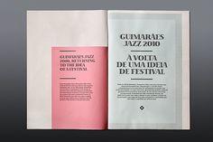 JAZZ JOURNAL 2010 on the Behance Network #design #typography #book