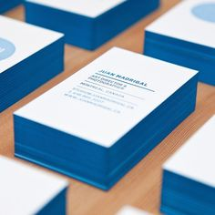 20 Brilliant Edge Painted Business Cards #card #identity #business